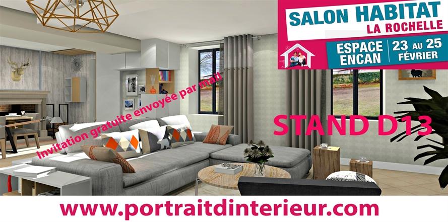 Actualites portrait d interieur decoration d interieur niort la rochelle saintes cognac royan - Salon de l habitat la rochelle ...